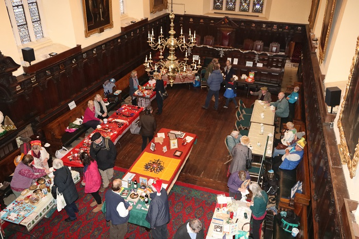 We are particularly grateful to the Russian people of Exeter who supported our Russian Xmas Fayre - they represented Moscow, Volgograd, Yaroslavl and a village in Central Siberia — at Exeter Guildhall