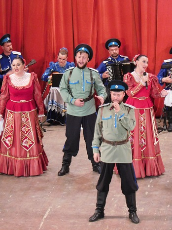 Concert of Cossack Singing and Dancing