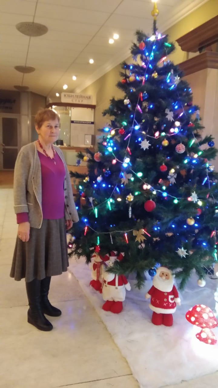 Our friend Людмила Дитмар / Ludmila Ditmar sends Christmas Greetings to all members of Exeter Yaroslavl Twinning Association — with людмила дитмар in Yaroslavl