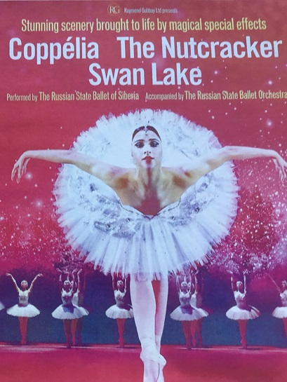 Russian Ballerina and link to ticket sales