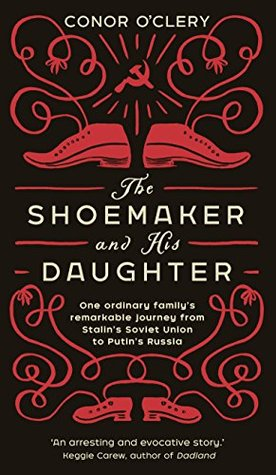 Book Cover 'The Shoemaker and His Daughter and link to Review'