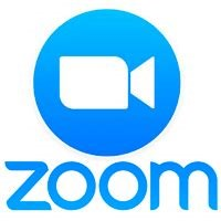 Zoom Logo and link to Zoom Site